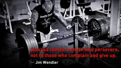 Jim Wendler Bench Quote